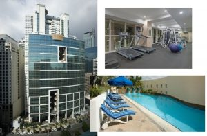 Three bedrooms condominium in Salcedo Village, Makati City for Rent fully furnished