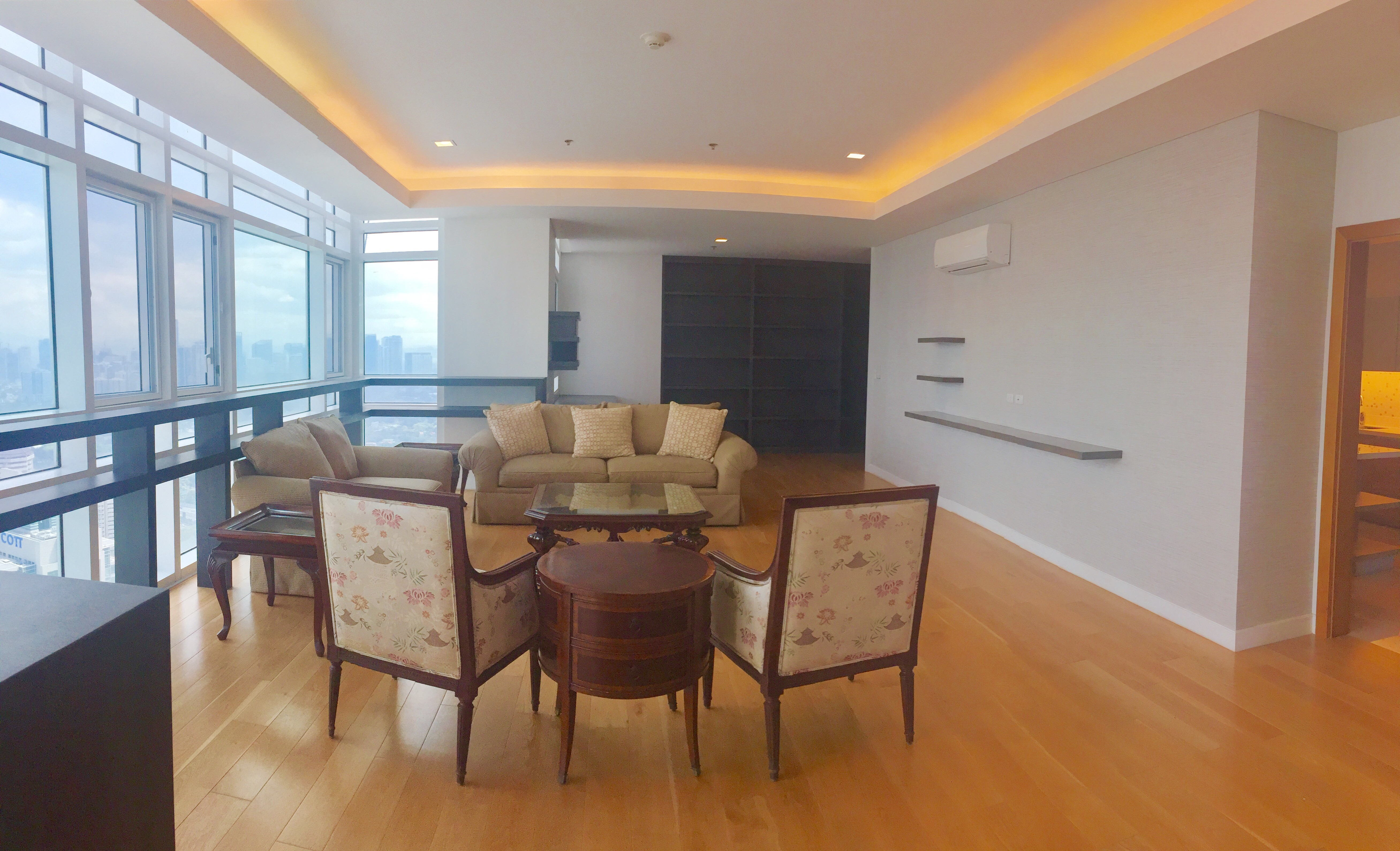 Penthouse Fully furnished 3 bedroom condo unit for lease at PARK TERRACES