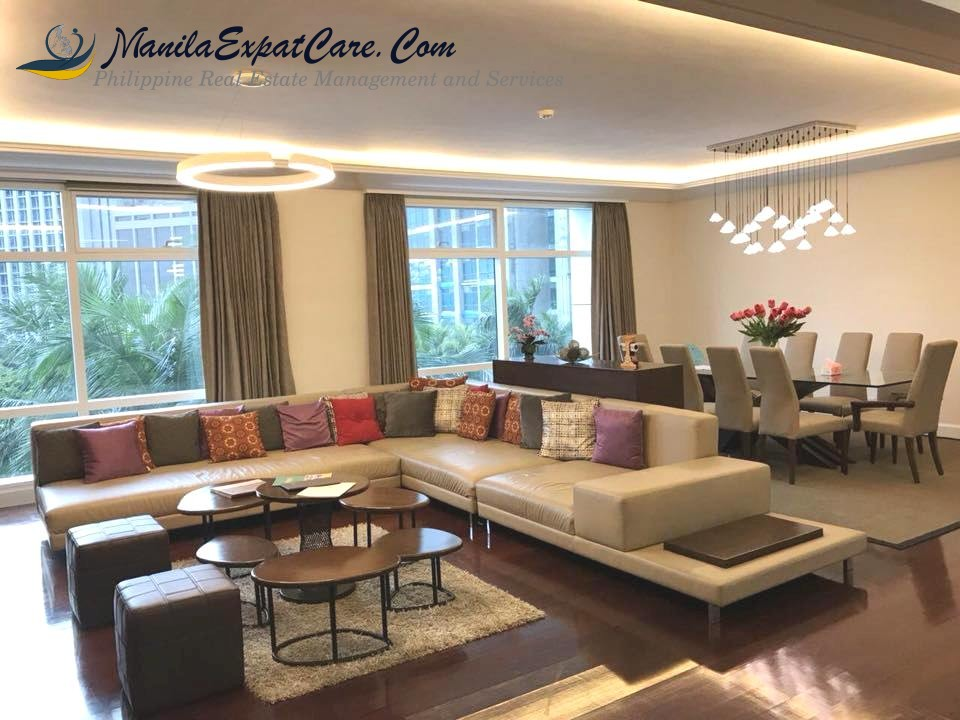 3 Bedroom Condo Apartment For Sale One Roxas Triangle