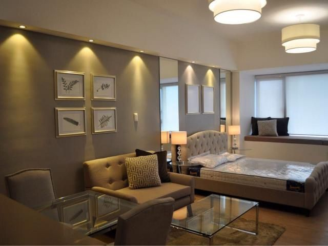 One Shangri-la Place Residences For Rent Studio Type Condominium