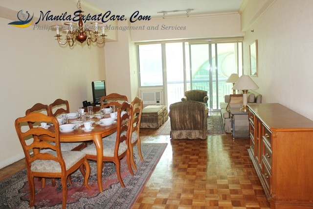 Makati 2 bedroom condo for rent with balcony fully furnished