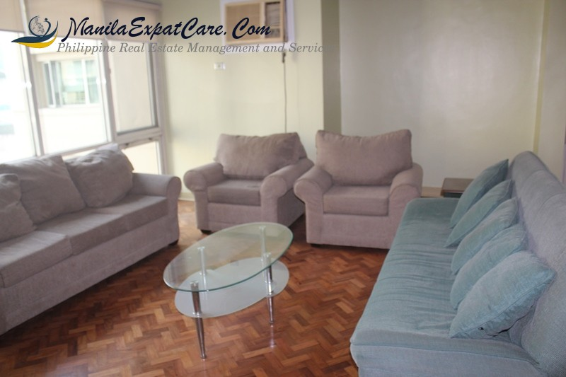 2 Bedroom Makati Condo For Rent fully furnished, Salcedo Village