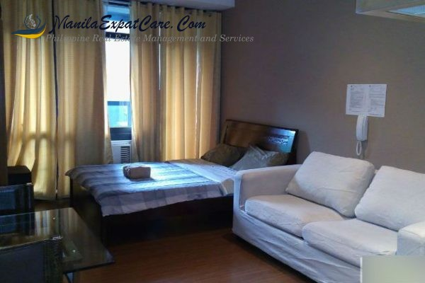 CONDO FOR LEASE The Gramercy Residences Makati Avenue, Makati City Studio furnished