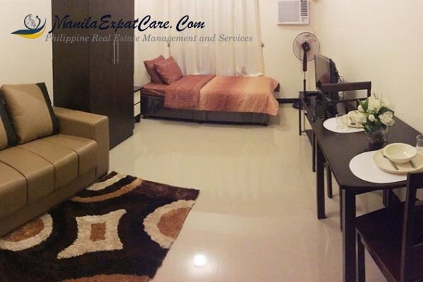 Mandaluyong Apartments & Condos For Rent – Studio Type
