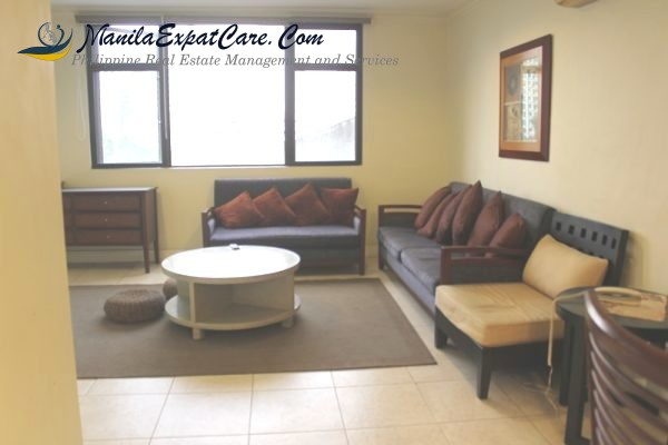 Biltmore For Rent furnished 1 bedroom at Legaspi Village, Makati