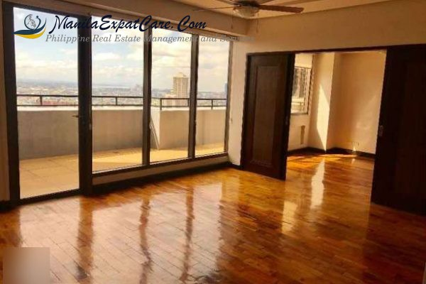 Penthouse 3 bedrooms for rent in Makati City near Greenbelt