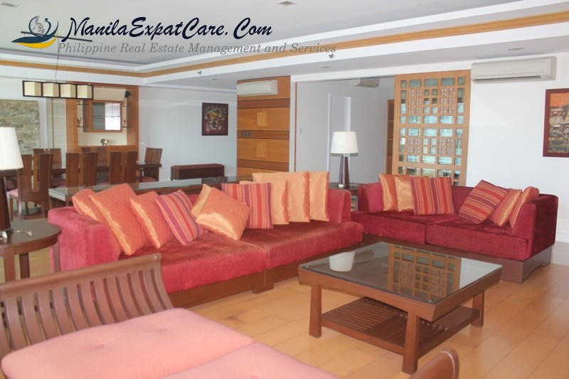 Legaspi Village Grand Shang Condos 3 BR Condo for RENT fully furnished