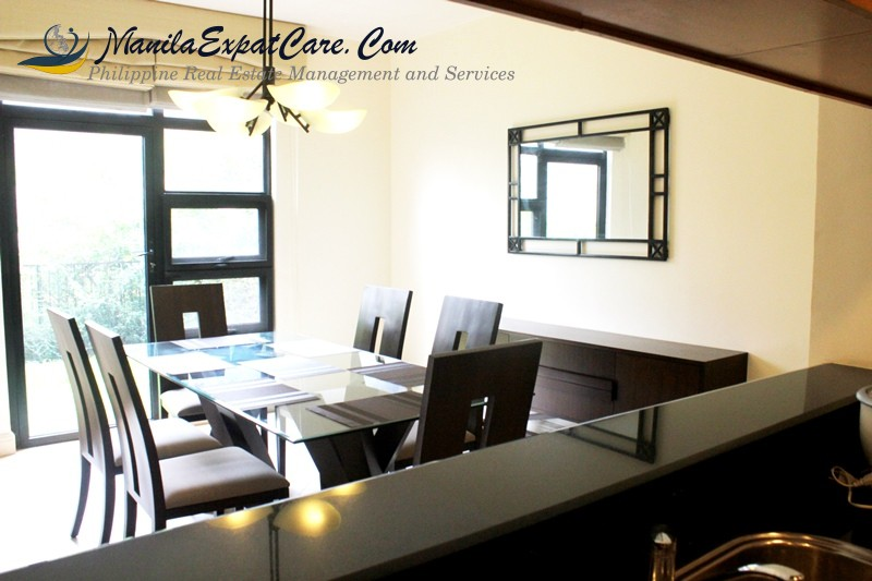 Makati Townhouse for Rent in Greenbelt 3 bedroom Legaspi Village furnished with garden