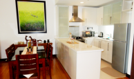 The Residences At Greenbelt Apartment & Condo Rentals, Makati – 1 Br – balcony