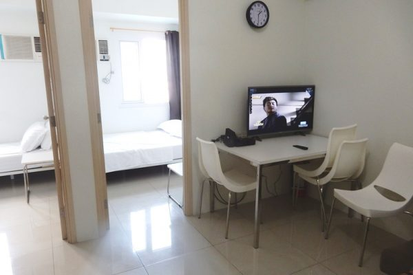 jazz residences 2 bedrooms staff house condo for rent makati fully furnished