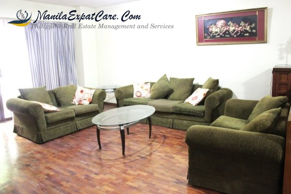 Legaspi Village Apartments & Condos For Rent – 2-bedroom Furnished
