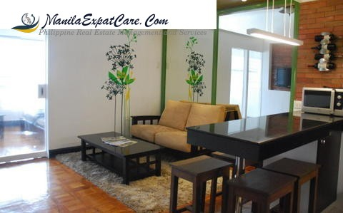 Makati condo for rent - 1 bedroom at BSA Suites Palanca