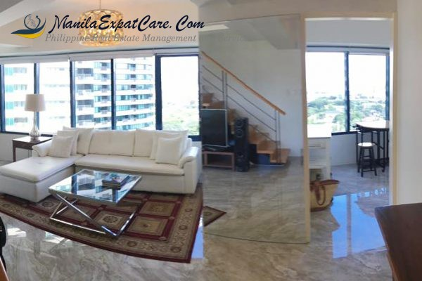 Rockwell condo for rent 2 BR Loft Unit with Great Views – Makati