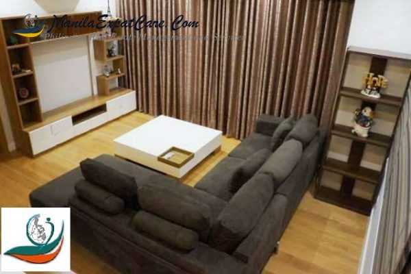 1 Bedroom -fully furnished with balcony for rent – Park Terraces