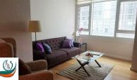 Modern Fully Furnished 1-Bedroom Condo Apartment for Lease at Park Terraces