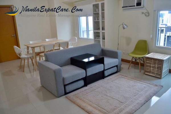 BURGOS CIRCLE Fort Bonifacio 3br Condo For Rent – Taguig BGC