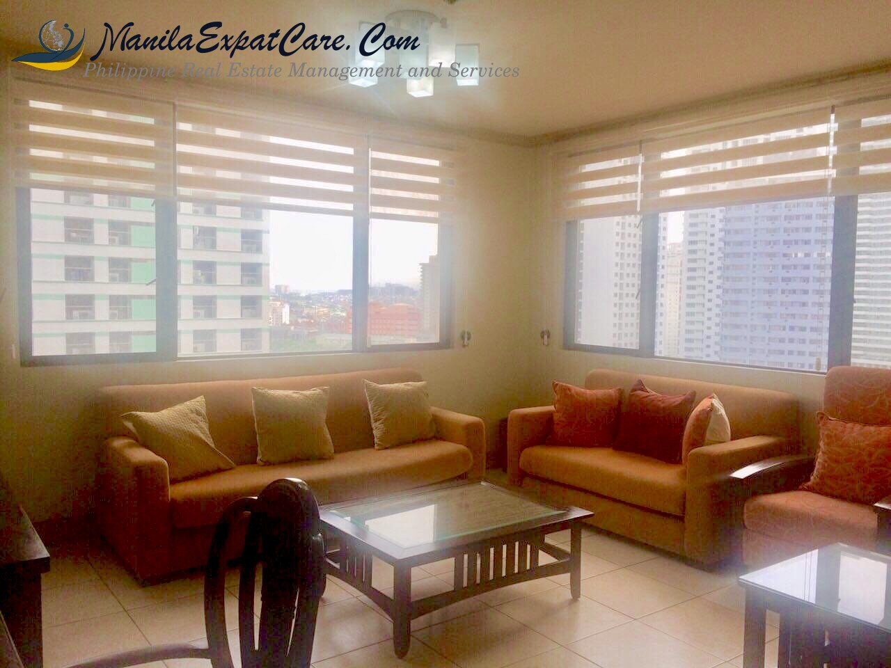 Greenbelt 1 bedroom condo for rent in Legaspi, Makati - Biltmore