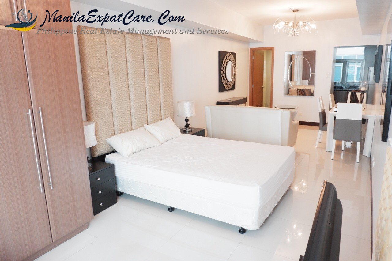 Greenbelt Madison studio type condo for rent - Makati city