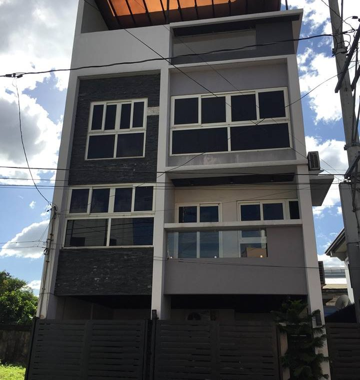 Quezon city 4 storey house and lot for sale fully furnished