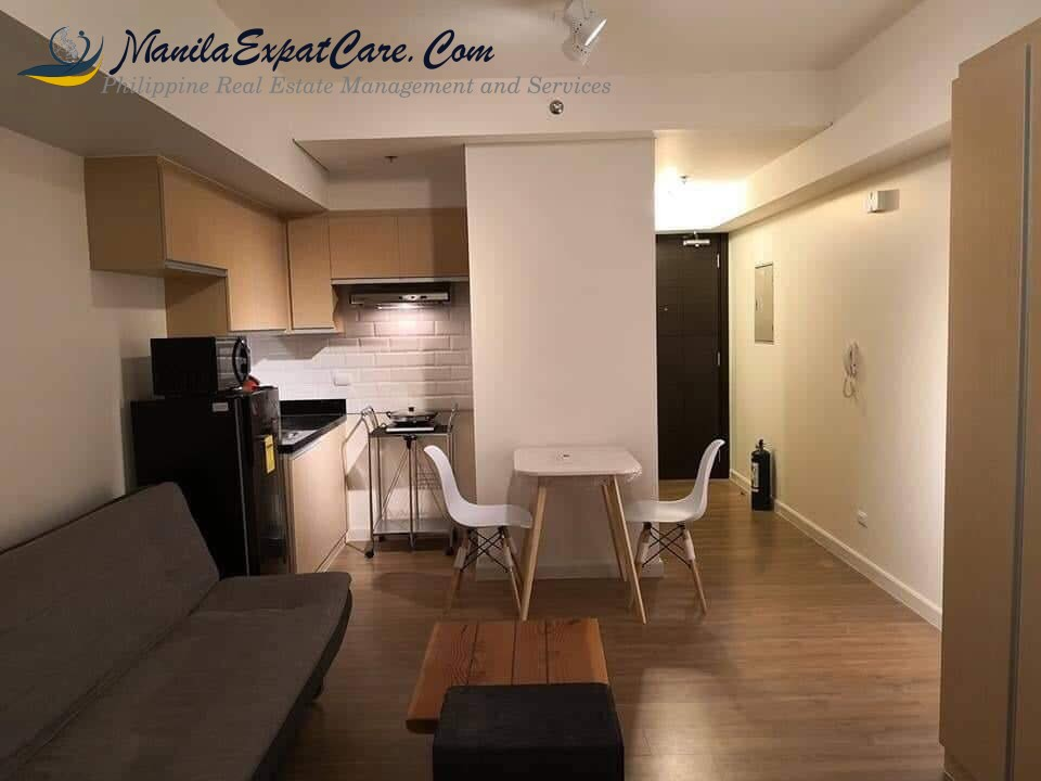lerato makati studio type condo for sale ne unit unfurnished