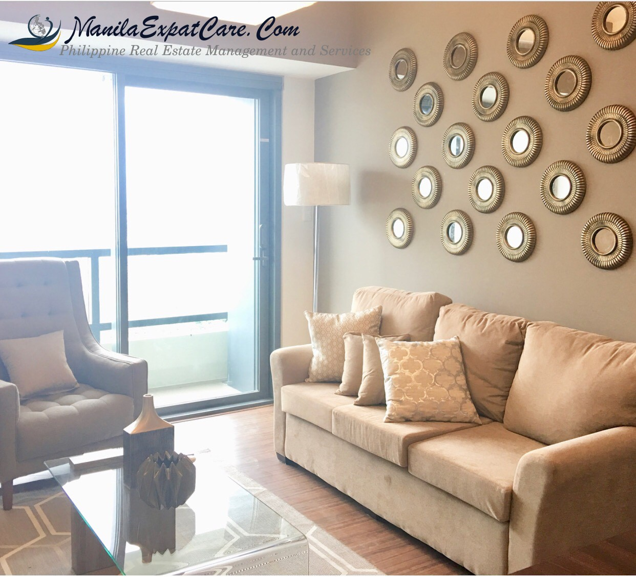 For Rent: Salcedo 1 Bedroom Modern Condo with balcony,Makati