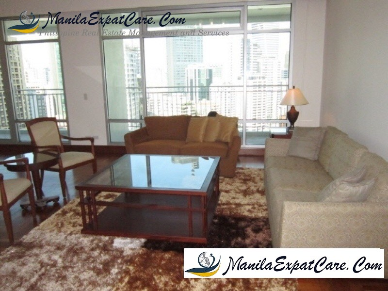 Four Seasons Condos for Sale, Salcedo Makati City - with balcony