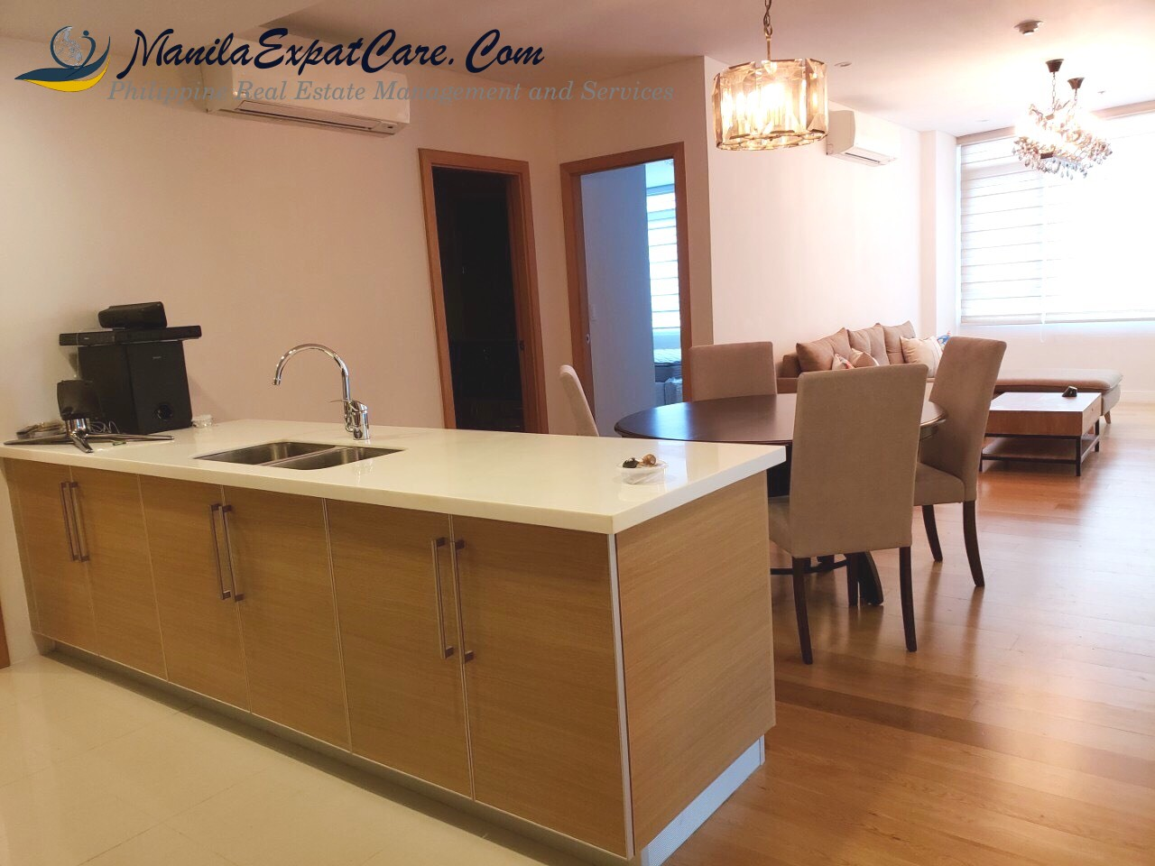 Park Terraces 2 Bedrooms condo for rent in Makati Fully Furnished New
