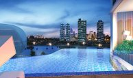 Acqua Private Residences Furnished 3BR condo for SALE with balcony