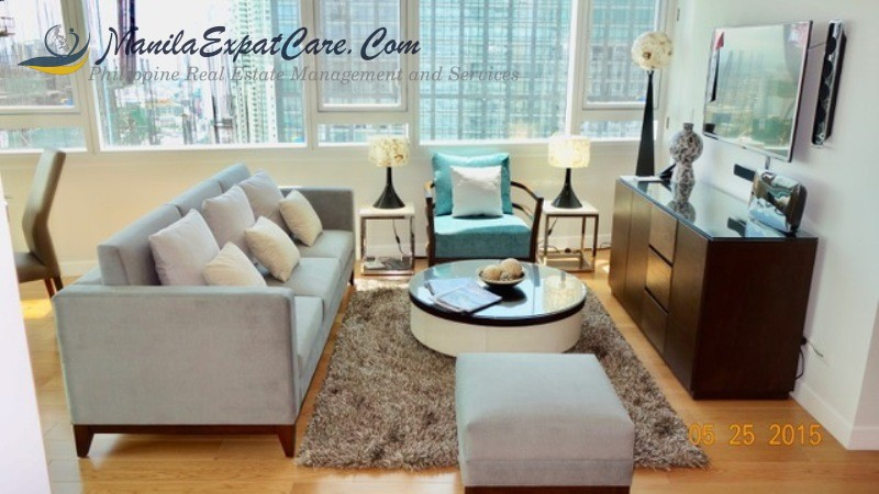 Makati Two Bedrooms condo for sale modern with balcony Park Terraces