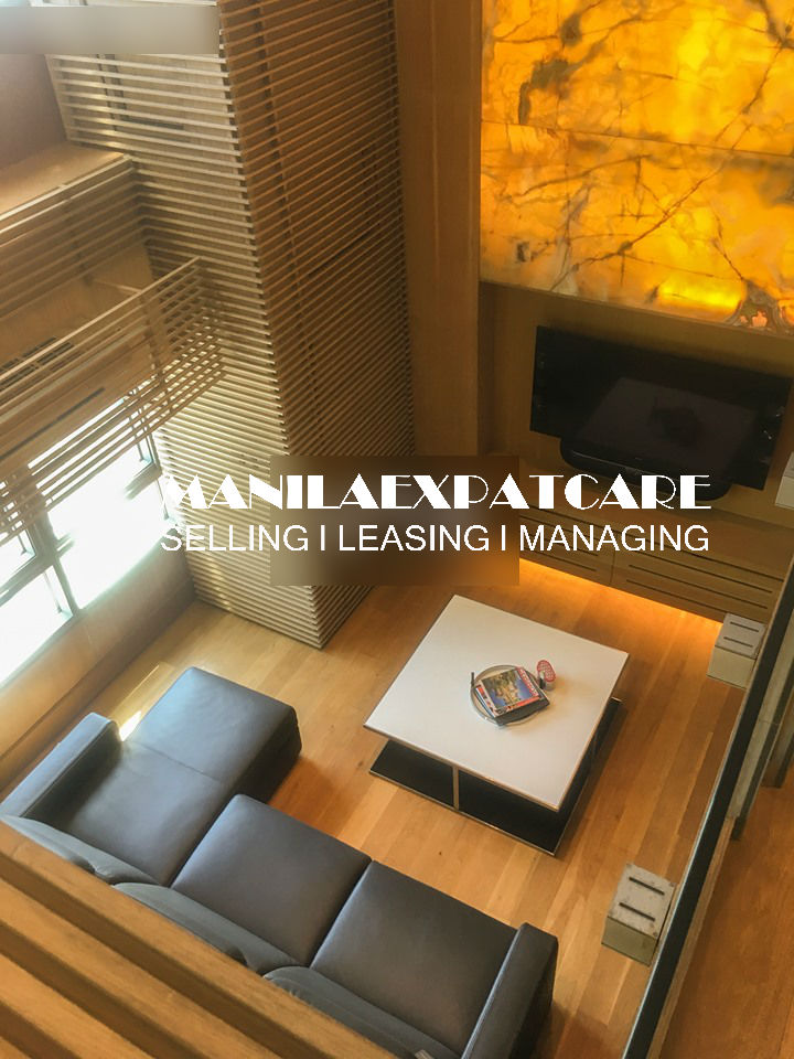 The Residences at Greenbelt, San Lorenzo Tower 1-bedroom loft type, condo for sale modern