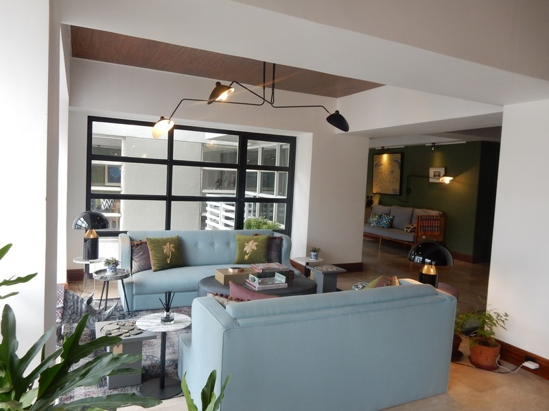 Salcedo village 3 bedrooms modern interior condo for sale in Makati with balcony, 3 br modern design Condo for sale in Salcedo Village, renovated loft type