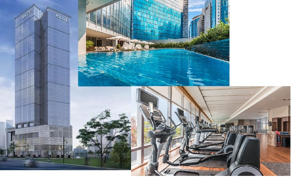 Ascott Luxury Apartments in Fort Bonifacio Global City, Manila