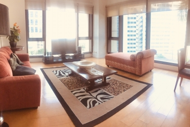 SHANG GRAND TOWER: GOOD BUY 2-BR For Sale Makati corner unit