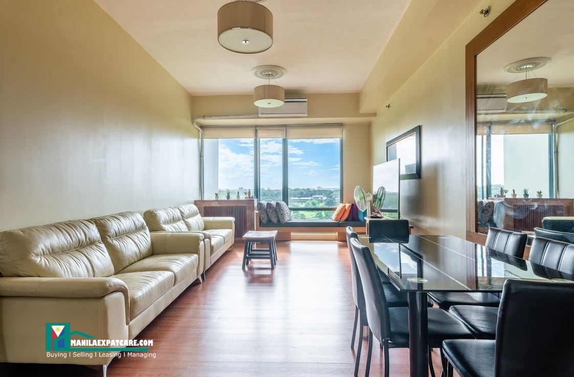 2 BR Corner Unit Golf View at The Bellagio 3 BGC for Sale fort bonifacio