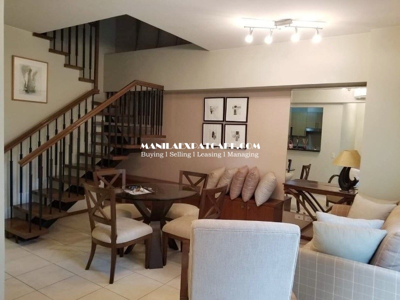Loft Type 2BR condo for SALE in Two Serendra, Encino (BGC)