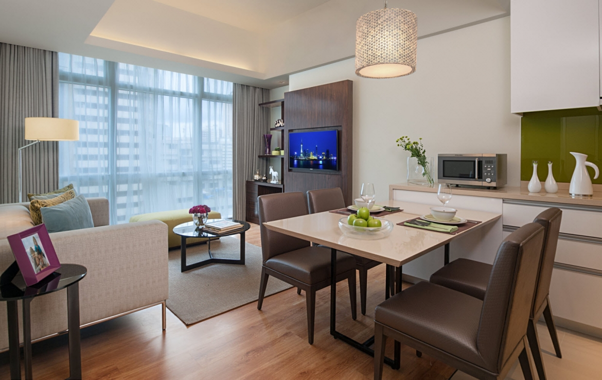 1 Bedroom Citadines Salcedo Makati Apartments for Rent
