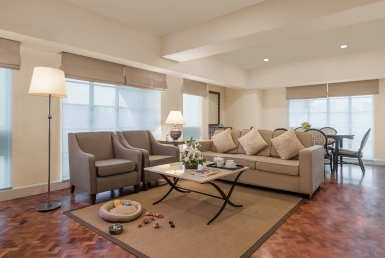 Makati Monthly Condo Rentals Short Term 2 Bedrooms Greenbelt