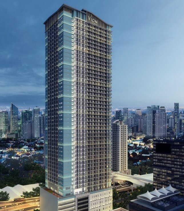 Vion Tower 2 Bedroom Preselling Condominium with Balcony in Makati City