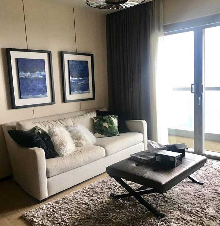 One Shangrila Place 1 bedroom condo for sale with balcony