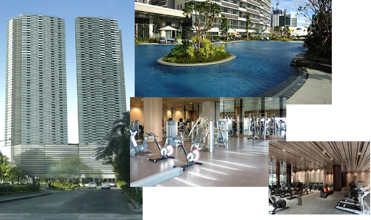 1 BR One Shangrila Place For Sale with balcony in Ortigas