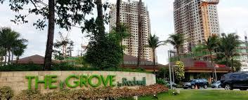 The Grove by Rockwell 1br CONDO for rent in Pasig City