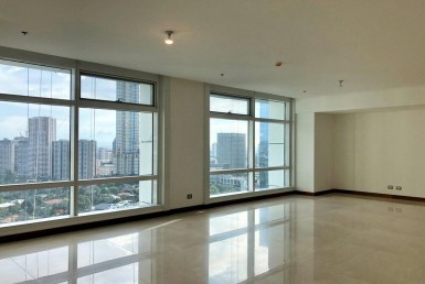 2 Roxas Triangle Semi-furnished lease condo 3 Bedrooms in Makati