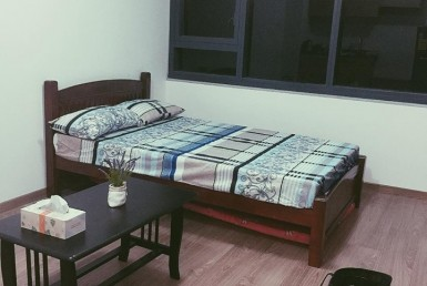 The Rise Studio Type condominium for rent Semi-furnished in Makati
