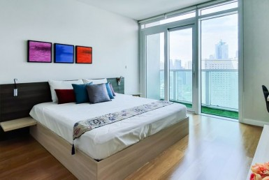FOR LEASE Park Terraces Point Tower Fully Furnished in Makati