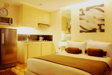 Greenbelt Studio Type Fully furnished greenbelt renovated Makati