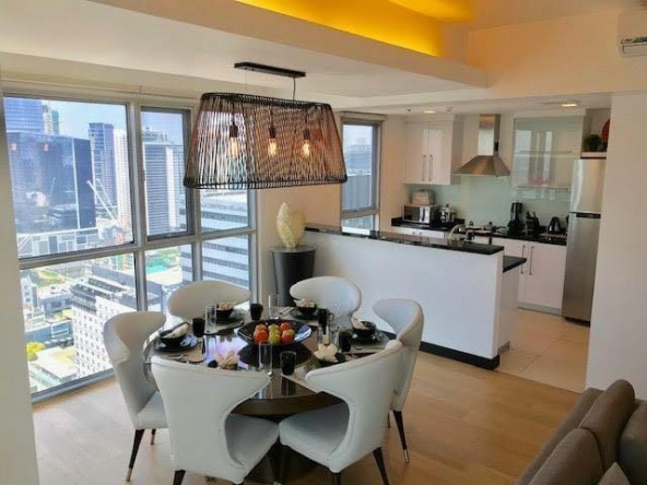 2 Bedroom West Tower at One Serendra FOR RENT Fort Bonifacio BGC